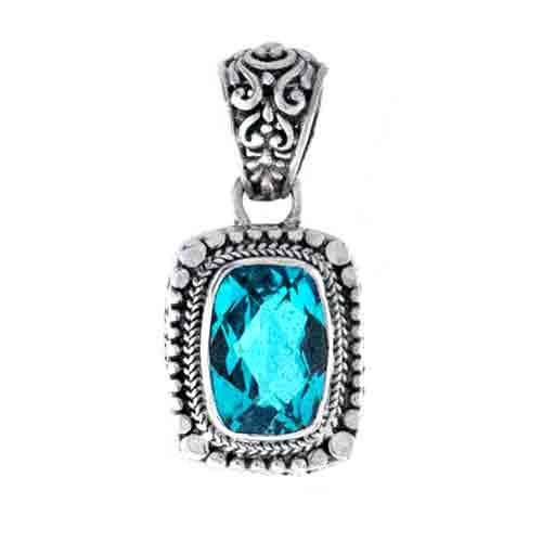 Paraiba blue quartz pendant sarda gemstone aloadofball Gallery