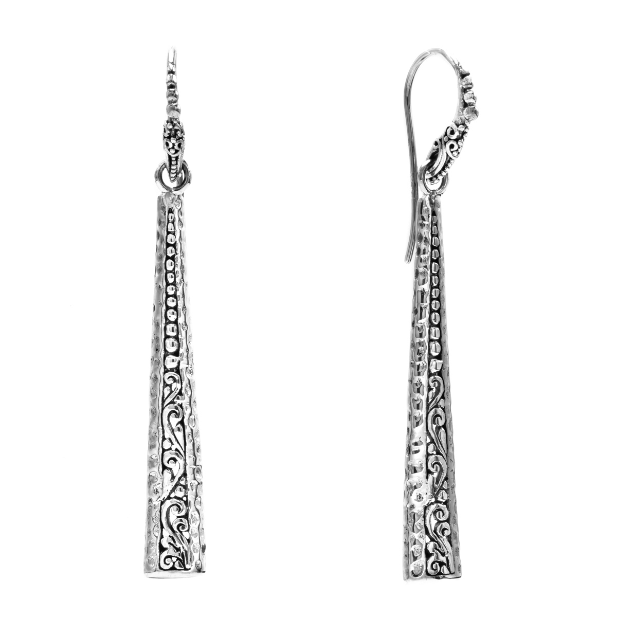Sterling Silver Light Of The World Earring